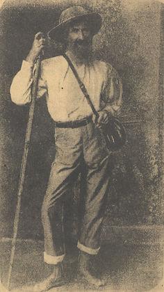 Naturalista alemão Fritz Müller em 1886