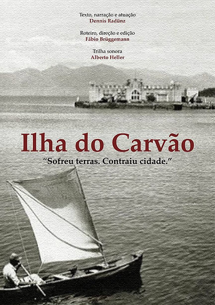 Cartaz do filme ILHA DO CARVÃO 2016