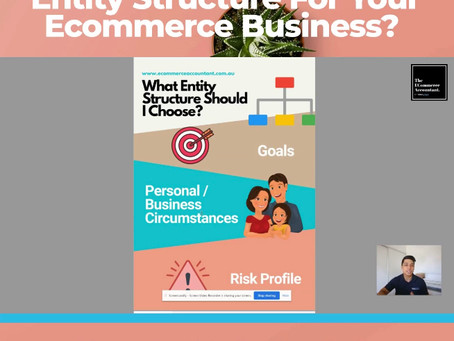 Choosing the right entity for your Ecommerce Business