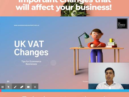 Important VAT Changes for Ecommerce Businesses
