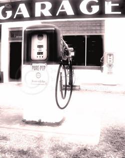 Vintage Service Station