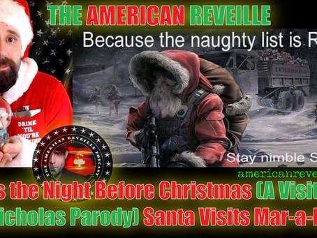 'Twas the Night Before Christmas (A Visit from St. Nicholas Parody) Santa Visits Mar-a-Lago!