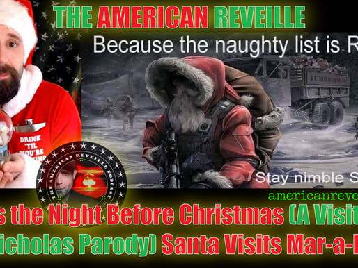 'Twas the Night Before Christmas (A Visit from St. Nicholas Parody) Santa Visits Mar-a-Lago!