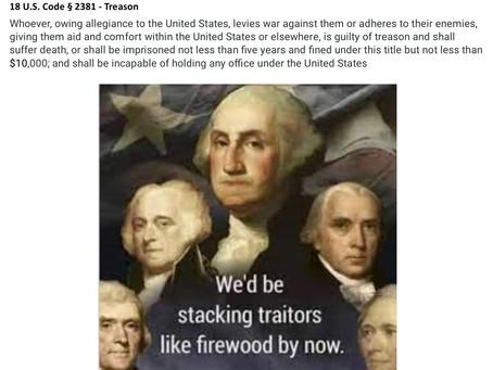 Meme Warfare #29: Treason Stackers