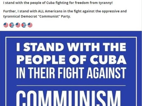 Meme Warfare #20: We Stand With the People of Cuba!
