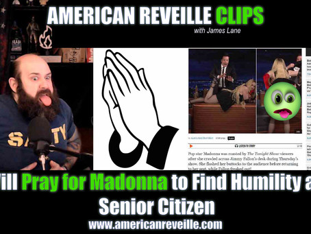 I Will Pray for Madonna to Find Peace and Humility (Clip)