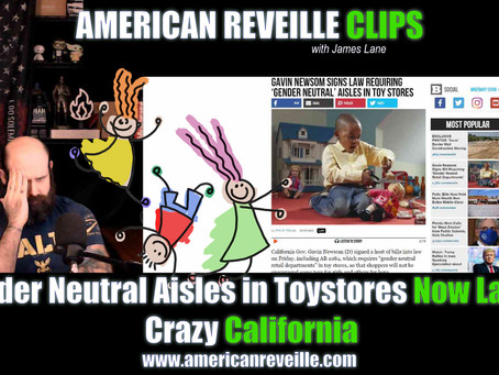 Gender Neutral Aisles in Toy Stores Now Law in Crazy California (Clip)
