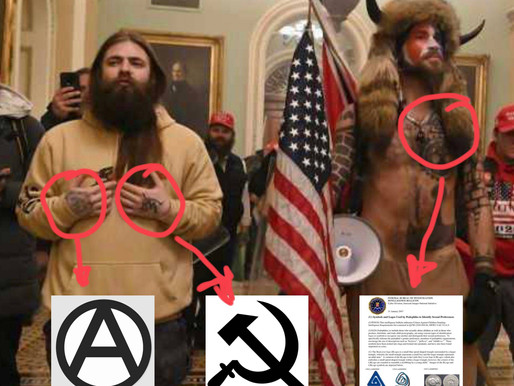 Leftwing Radical Infiltrators Incite Violence at the Capitol Building