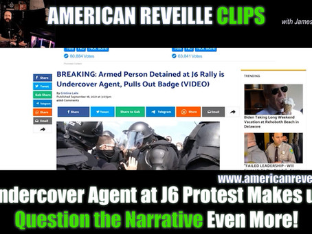 Undercover Agent at J6 Protest Makes us Question the Narrative Even More! [Clip]