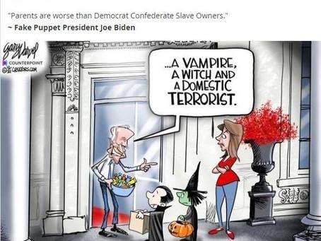 Meme Warfare #31: Happy Halloween from President Brandon!