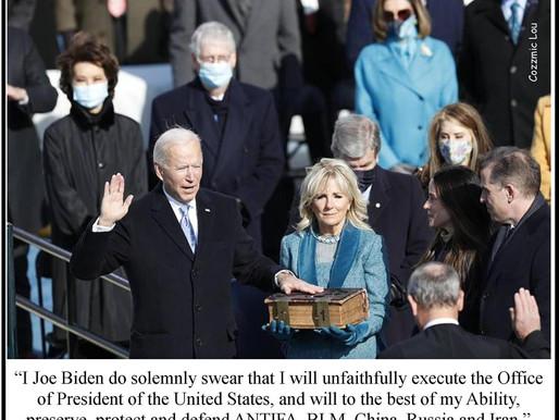 Meme Warfare #1: Joe Biden Swears Allegiance to the New Axis of Evil!