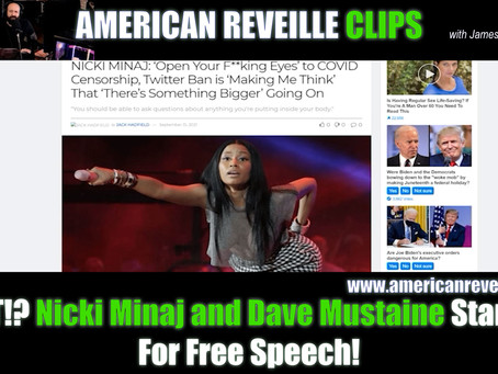 WHAT!? Nicki Minaj and Dave Mustaine Stand Up For Free Speech! [Clip]