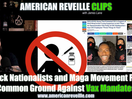 Black Nationalists and Maga Movement Find Common Ground Against Illegal Vax Mandates (Clip)