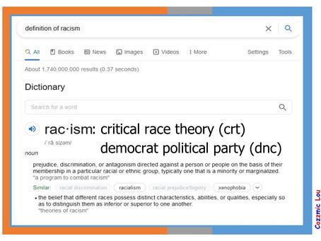 Meme Warfare #16: Definition of Critical Race Theory