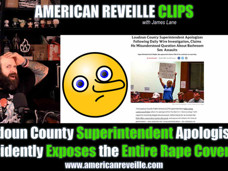 Loudoun County Superintendent Apologises...Accidently Exposes the Entire Rape Cover-Up [Clip]