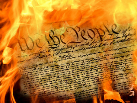 Joe Biden Pours Gasoline on the US Constitution and Lights a Match!