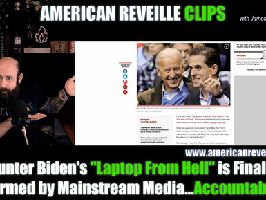 """Hunter Biden's """"Laptop From Hell"""" is Finally Confirmed by Mainstream Media...Accountability? [Clip]"""