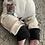 Thumbnail: Fleece backed rabbit leggings