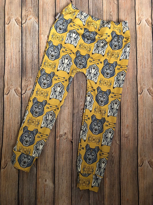 Mustard bears and wolves