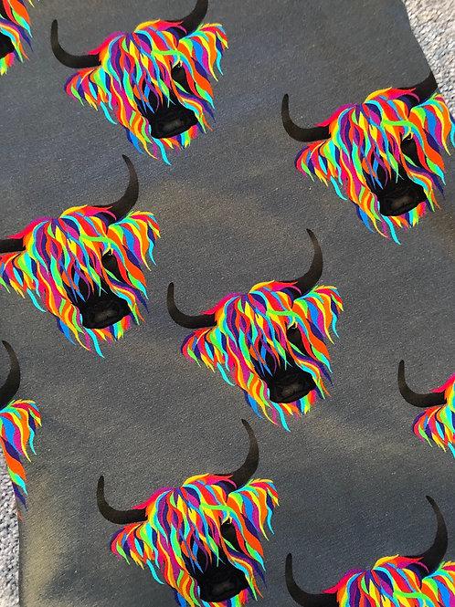Rainbow cow Leggings/Shorts