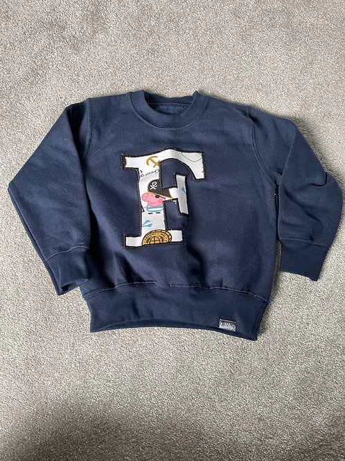 2-3 years initial jumper 'f'
