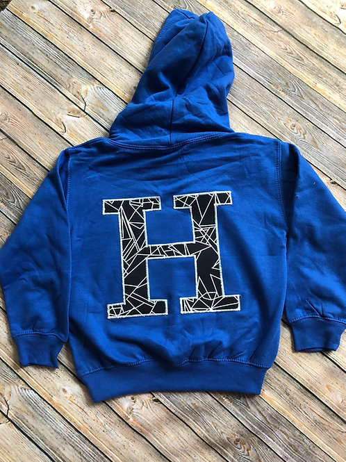 Initial or Number Hooded Jumper