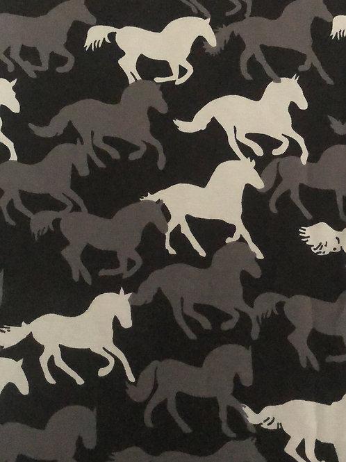 Monochrome Horses