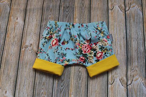 3-6 mths Floral Shorts