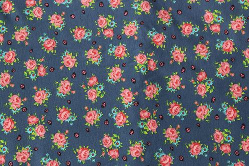Floral Ladybirds Pinafore Dress