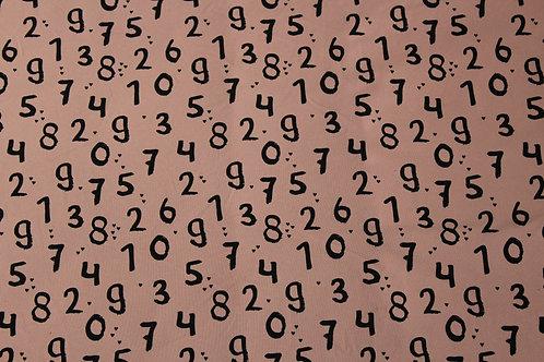 Numbers Long/Shortie Romper
