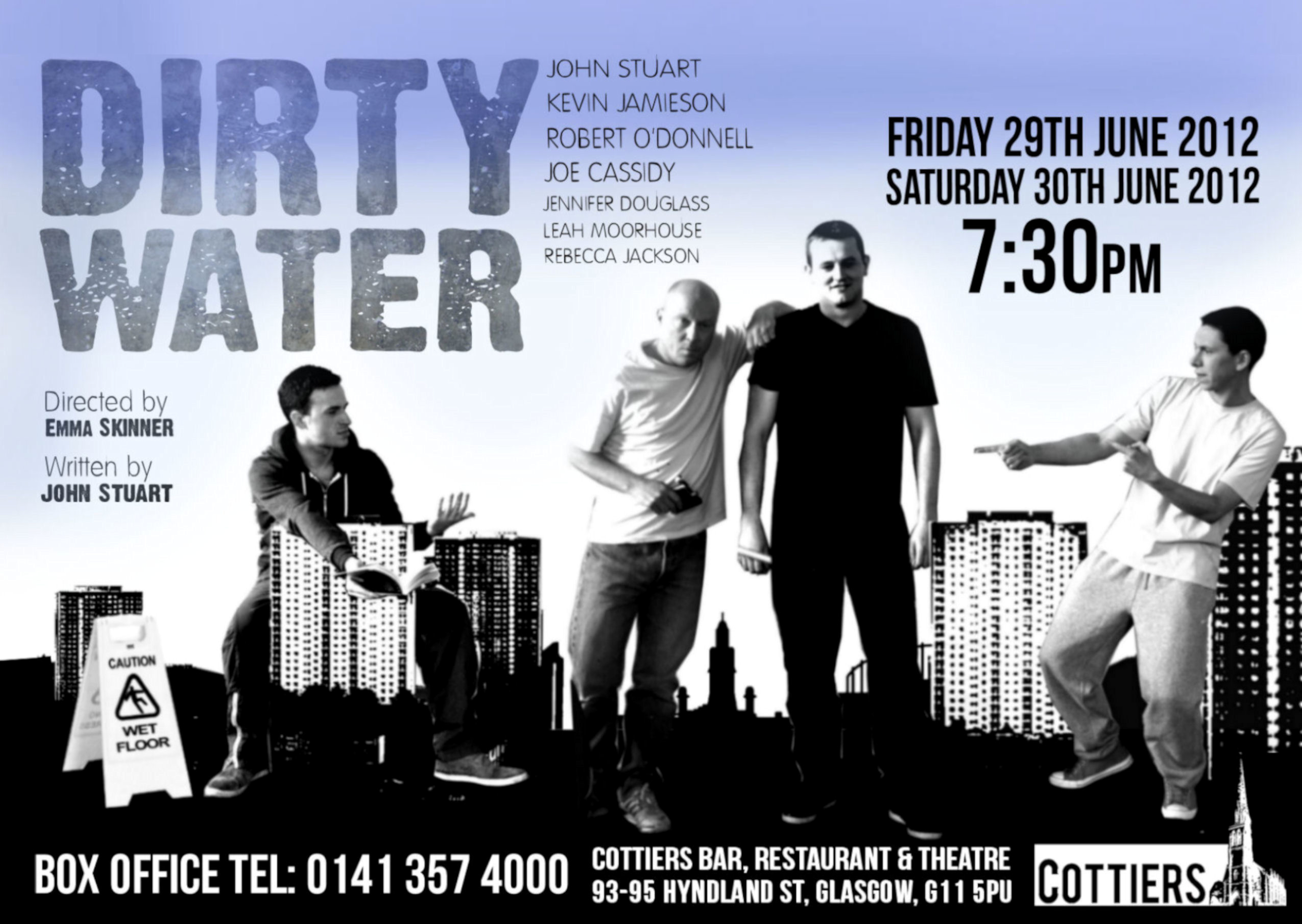 Dirty Water first poster 2012