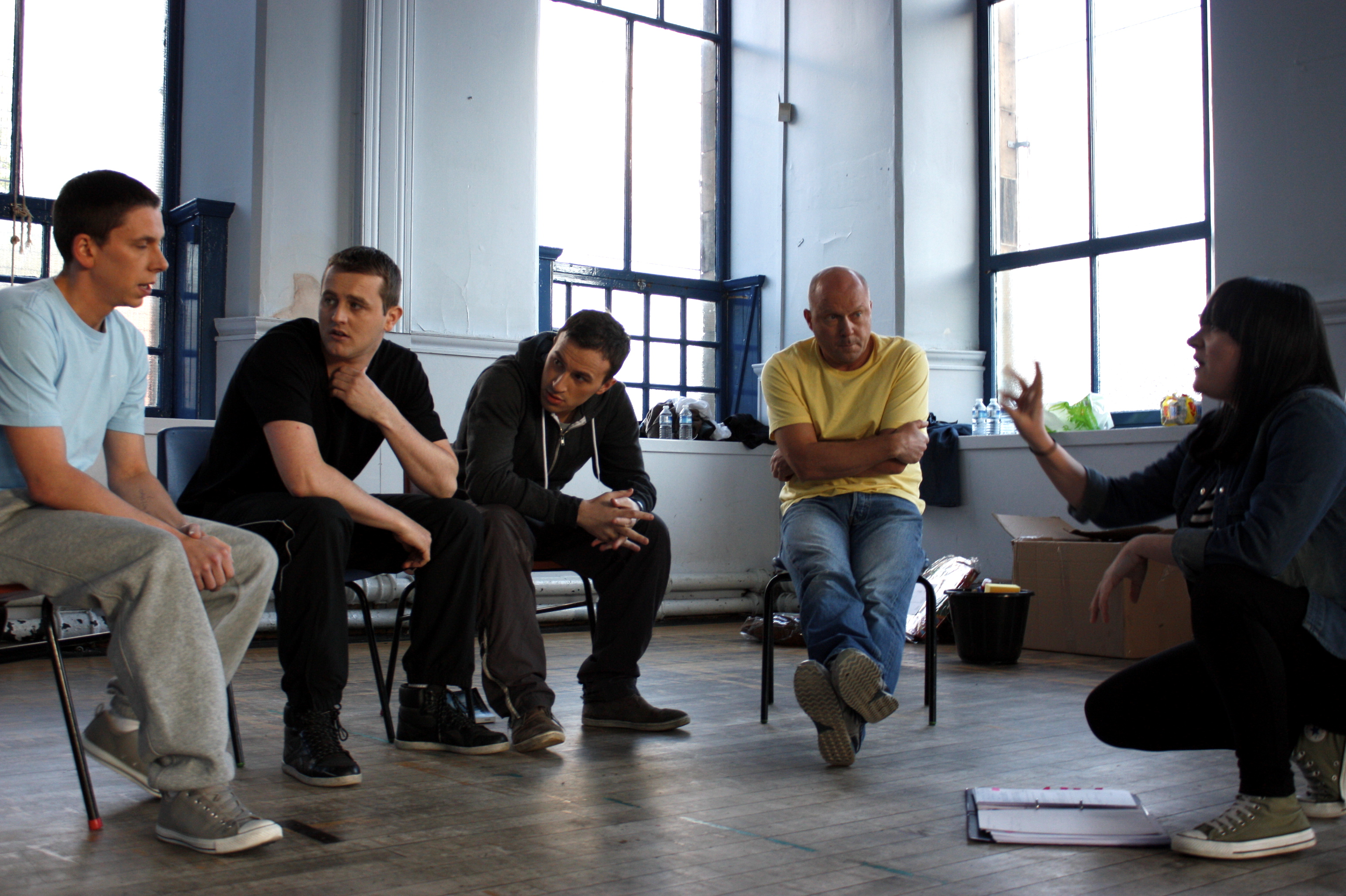 Dirty Water's first rehearsal 2012