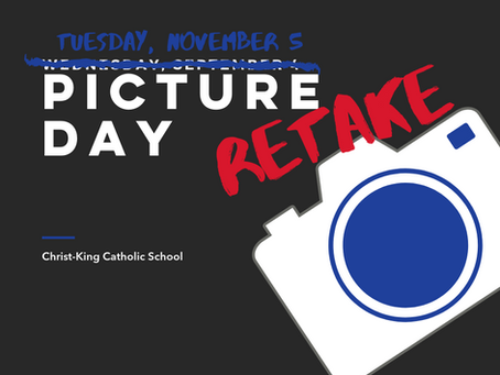 November 5th is picture retake day