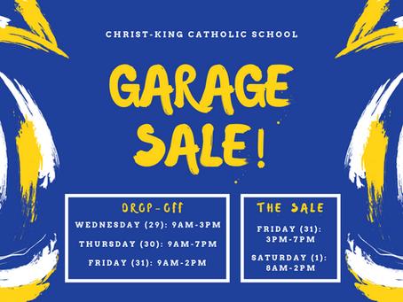 CKCS Garage Sale