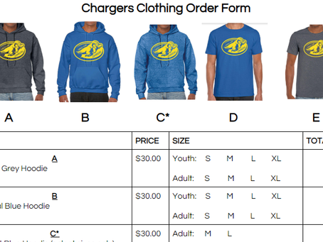 Chargers clothing
