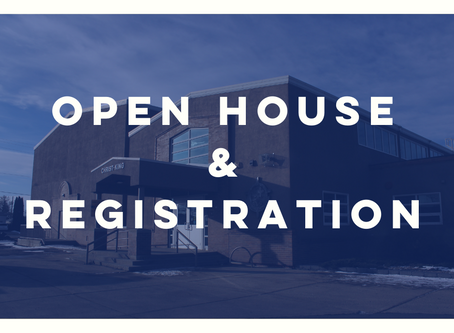 2019/2020 Open House and Registration