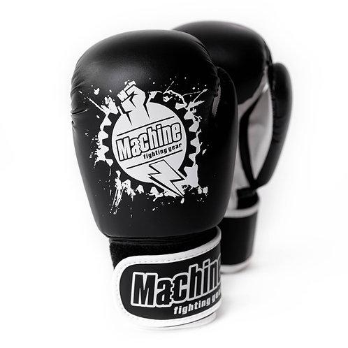 Boxerské rukavice Machine Fist – černo-bílé