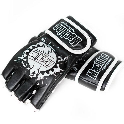 MMA Rukavice Machine Fist – černo-bílé