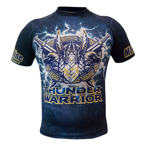 Rashguard Thunder Warrior - krátký rukáv