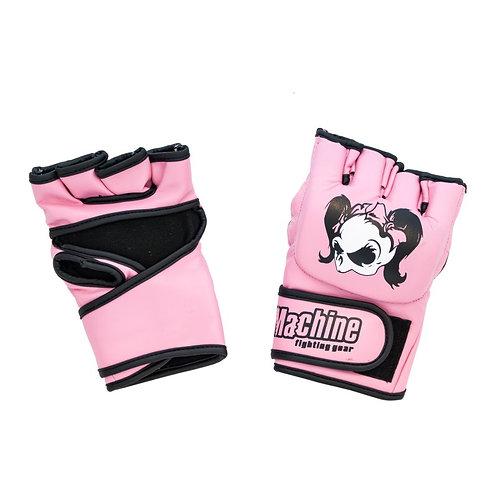 Dámské MMA Rukavice Machine Girlie Skull – růžové