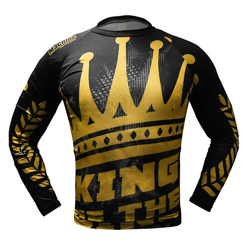 Rashguard MACHINE KING OF THE RING dl.rukáv