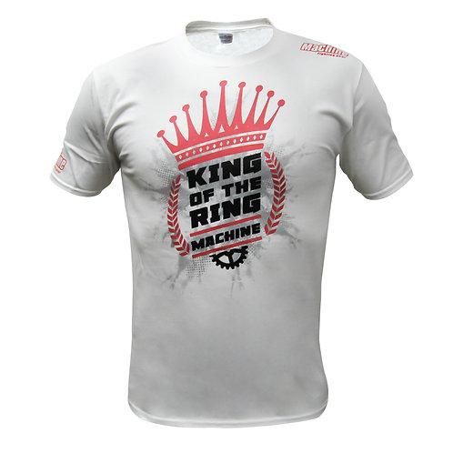 Triko Machine KING OF THE MACHINE - bílé