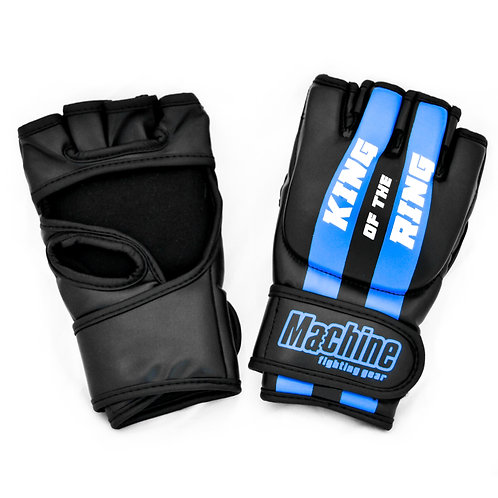 kopie MMA rukavice Machine King Of The Ring FAST - černo/modré