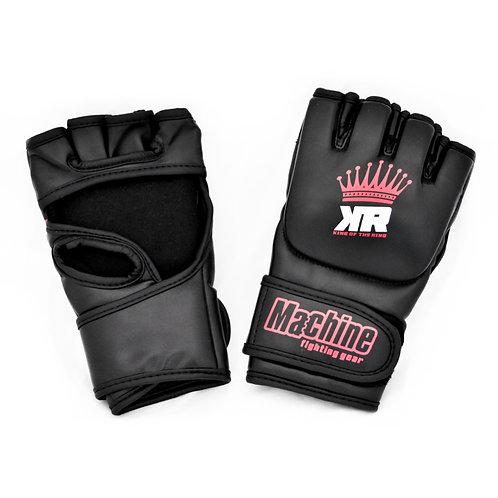 MMA rukavice Machine King Of The Ring CROWN - černo/červené