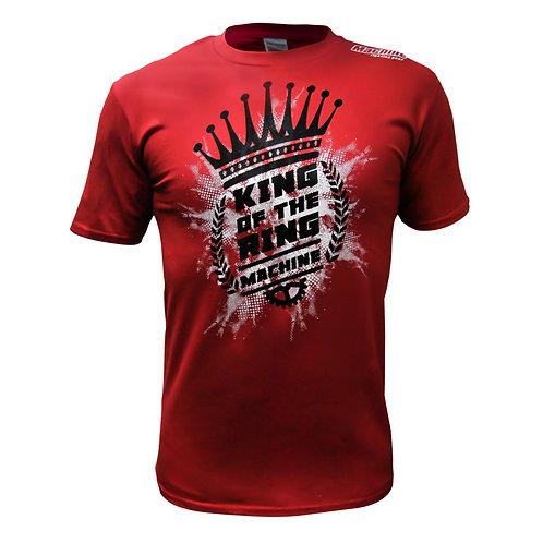 Triko Machine KING OF THE MACHINE - červené
