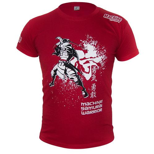 Triko Machine Samurai - červené