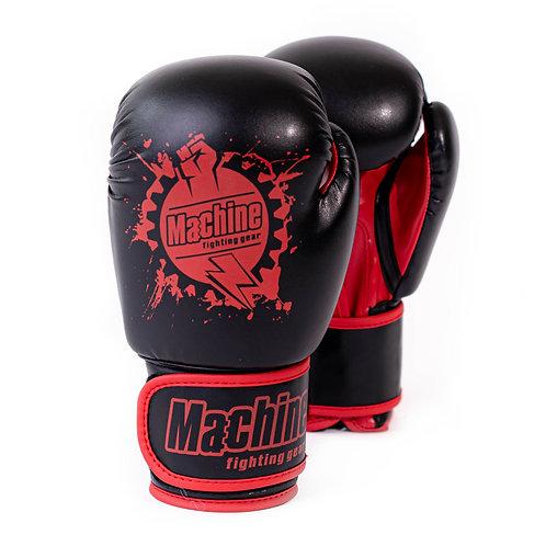 Boxerské rukavice Machine Fist – černo-červené