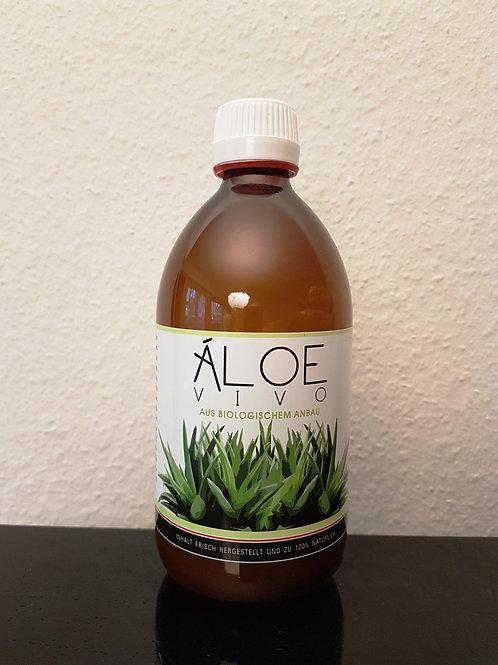 0.5 Liter Bio Aloe Vivo Saft