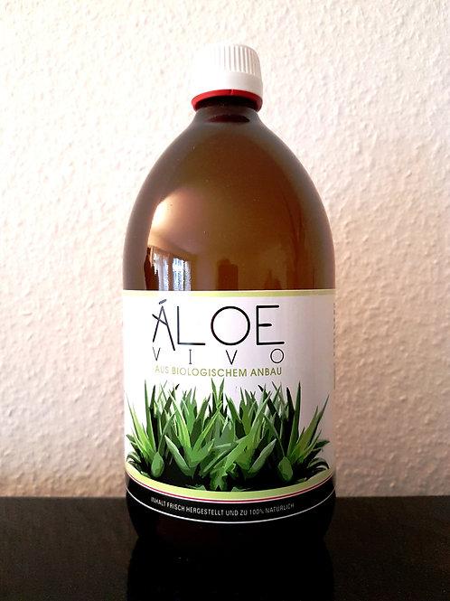 1 Liter Bio Aloe Vivo Saft