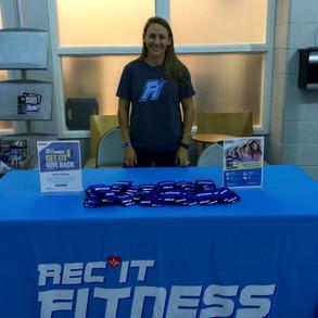 Rec It Fitness App Promotion